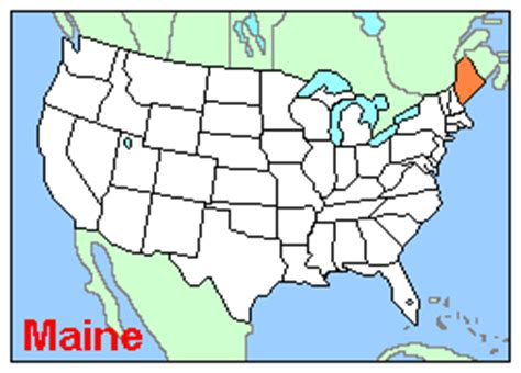 usa map states maine maine is not part of america and america is not part of