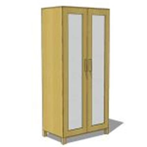 Ikea Beech Wardrobe by Formfonts 3d Models Textures