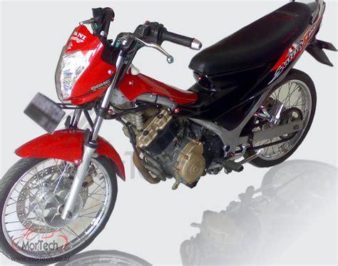 Tromol Zox Depan Blakang Satria Fu satria fu modifikasi standar ala mortech panduan modifikasi motor lengkap dan terbaru