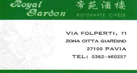 royal garden pavia royal garden pavia restaurant avis num 233 ro de t 233 l 233 phone