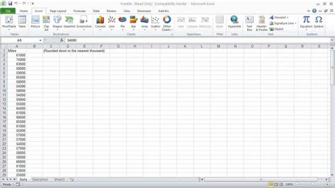 Excel Frequency Table by Normal Distribution Table In Excel 2010 How To Plot A