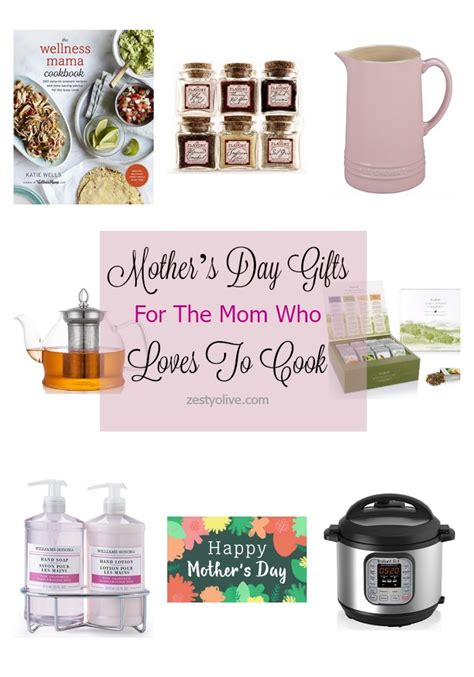 mother s day gifts for the cook in the kitchen crafty mother s day gifts for the mom who loves to cook zesty