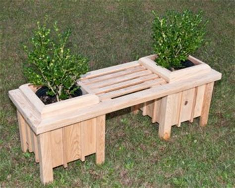 planter seat bench plans to build wood bench planter pdf plans