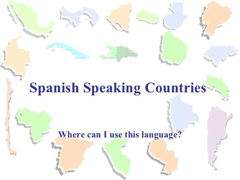 what are the speaking countries speaking countries