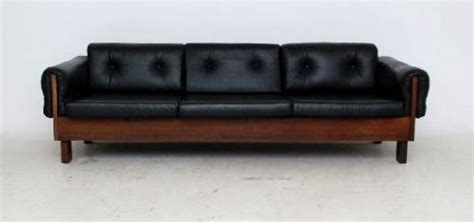black vintage couch vintage black leather sofa1 s3net sectional sofas sale
