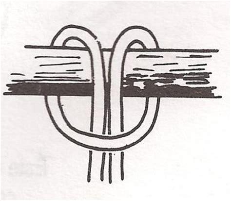 nudo alondra los nudos m 225 s utilizados en escalada y monta 241 ismo
