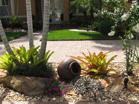 Rock Garden Miami with Tropical Rock Garden Tropical Landscape Miami