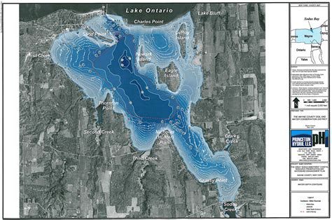 depth map sodus bay maps save our sodus