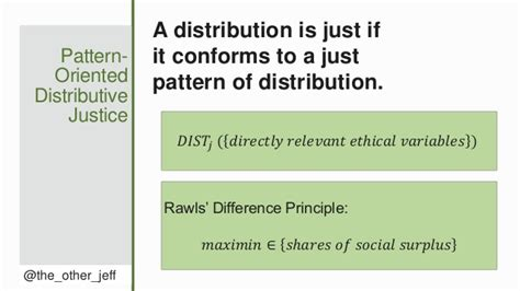 pattern theory of justice the value and limits of distributive justice in