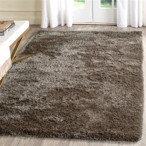 Area Rugs Toronto Safavieh Toronto Shag Taupe 5 Ft X 8 Ft Area Rug Sgt711e 5 The Home Depot