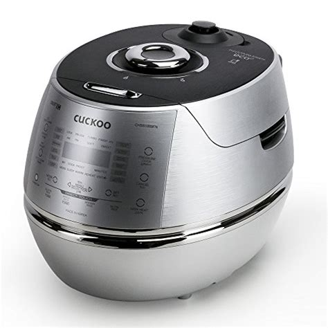 induction heating silver cuckoo electric induction heating pressure rice cooker crp chss1009fn silver 11street malaysia