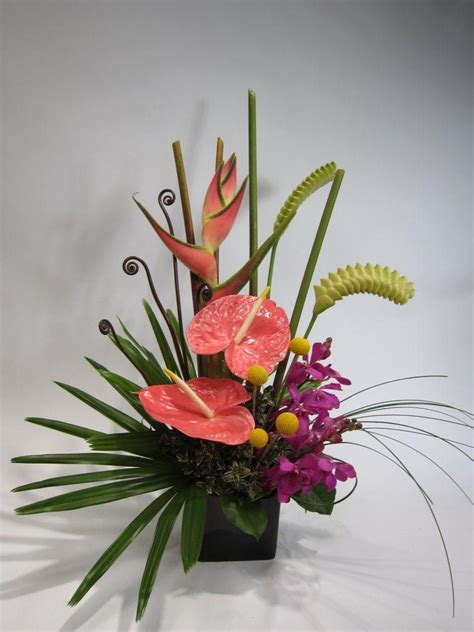 small flower arrangements centerpieces small floral arrangements tropical arrangement florals