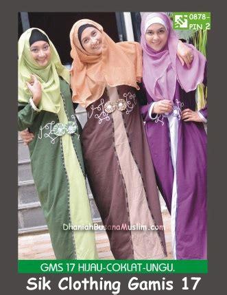 Gamis Sik Chloting sik clothing gamis 17 pusat sik clothing terbaru
