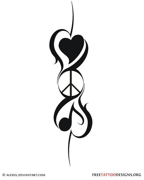 peace tribal tattoos best 25 peace sign tattoos ideas on hippie