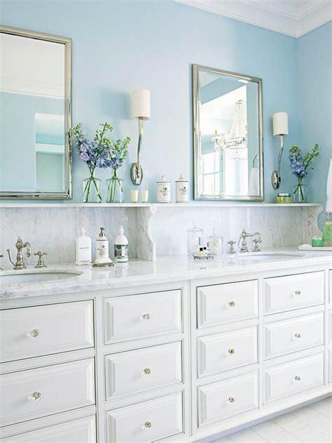 Bhg Bathrooms by Blue Bathroom Design Cottage Bathroom Bhg