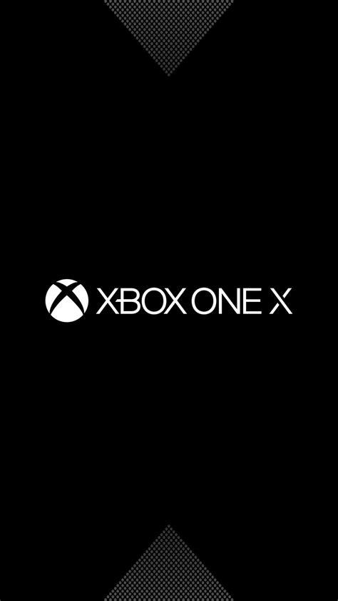 Wallpaper Xbox One X, Logo, Dark, Minimal, HD, 4K, Games