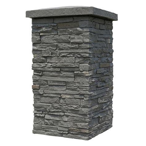 nextstone slatestone rundle ridge 30 in x 16 in faux