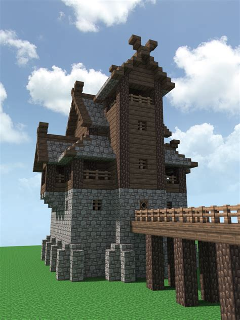 Small Castle Floor Plans A Nordic Fort Minecraft