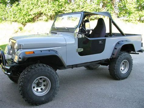 Used Jeeps For Sale In Missouri Find Used Jeep Cj8 Scrambler In Harrisonville Missouri