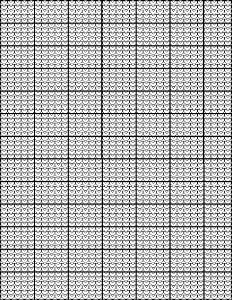 knitting pattern word generator another knitting graph paper chart that looks like knit