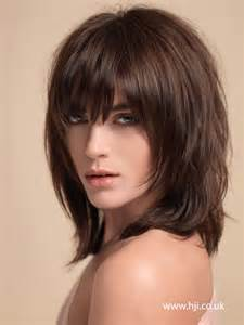 hairstyles with fullness best mid length hairstyles for thick hair haircuts and
