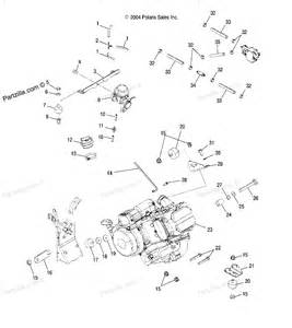 polaris atv parts 2005 a05mh42ab sportsman 400 engine mounting diagram