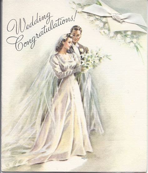Wedding Card Vintage by 44 Best Images About Vintage Wedding And Anniversary Cards