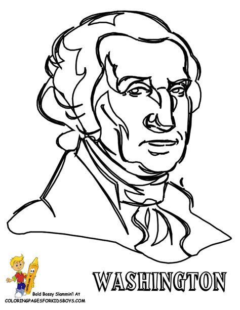 fierce presidents coloring pages free presidents day
