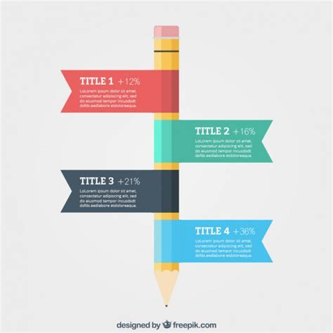 graphics template education infographic template vector free