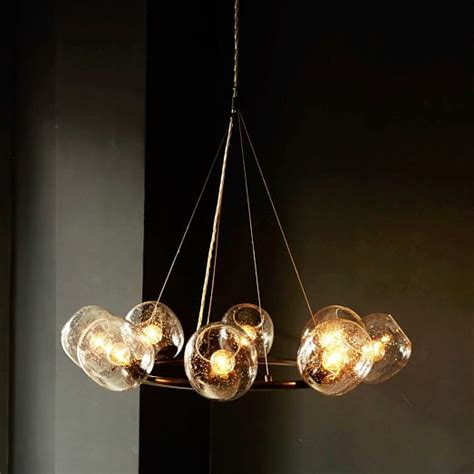 Halo Chandelier Eclipse Chandelier Halo West Elm