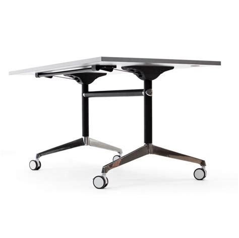 flip top mobile table modulus flip top mobile table seated