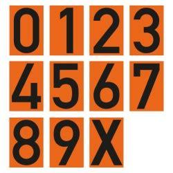 Buchstaben Aufkleber Einzeln by Quot Zahlen Buchstaben Einzeln Quot F 252 R Warntafel Aus Folie