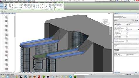 How I Build A Commercial Building In Revit Architecture Revit Architecture House Design