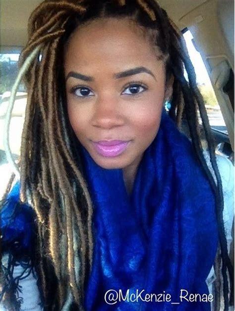 faux yarn dreads on natural hair faux yarn locs hair pinterest beautiful next style