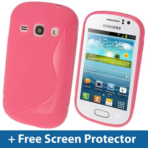 Casing Hp Samsung Fame pink s line tpu gel for samsung galaxy fame s6810 android cover skin shell ebay