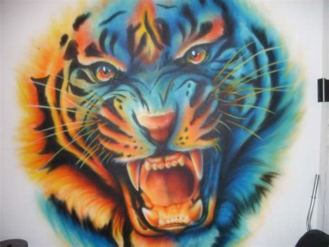 blue tiger by sandmannder3 on deviantart