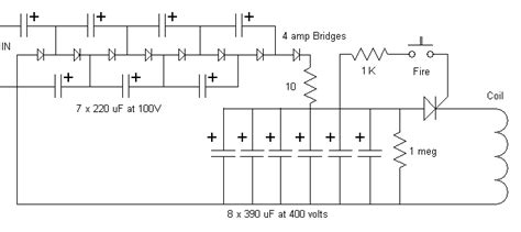 how to make capacitor bank circuit my commentary and technical help stuff to sell