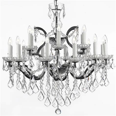 Black Wrought Iron And Crystal Chandelier Home Design Ideas Black Iron Chandelier With Crystals