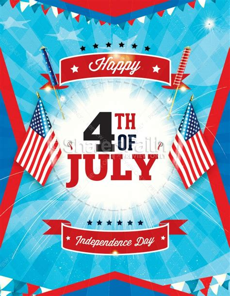 fourth of july flyer template free independence day 4th of july religious flyer template