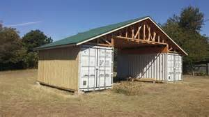 Garage Canopy Awning Shipping Container Barn Austin Tx Shipping Container