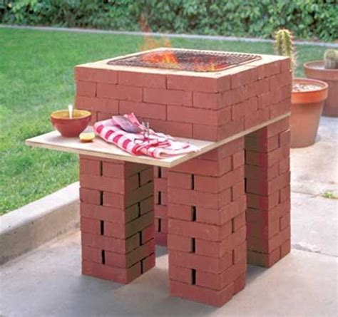 diy brick outdoor fireplace build a brick outdoor fireplace grill diy furniture wood