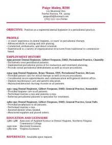 Dental Hygiene Sle Resume by Dimensions Of Dental Hygiene