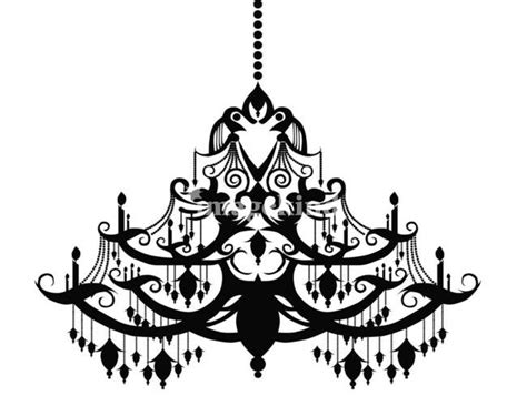 Black And White Chandeliers Fancy Chandelier Drawing