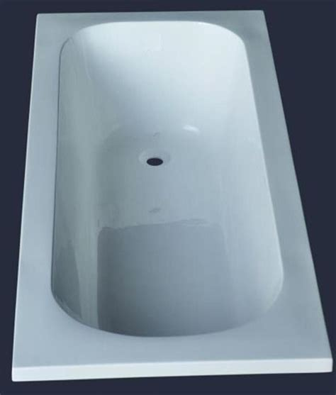 1400mm Acrylic Bath Tub Small Drop In Inset Design 1400 700 400mm Ebay