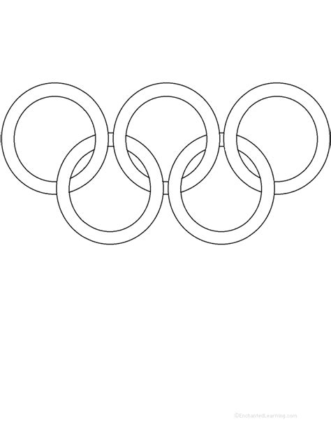 olympic rings coloring page perimeter poem and other olympic worksheets rti