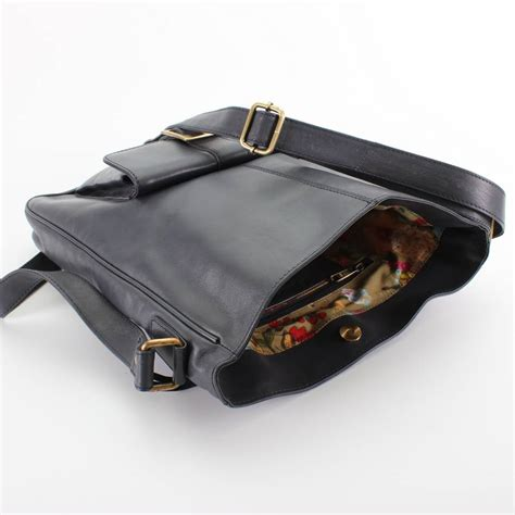 Navy Blue Leather by Navy Blue Leather Pocket Cross Bag By The Leather