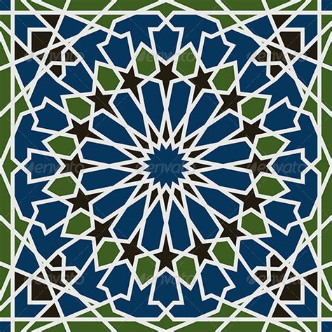 simple islamic pattern arabesque seamless pattern graphicriver arabesque