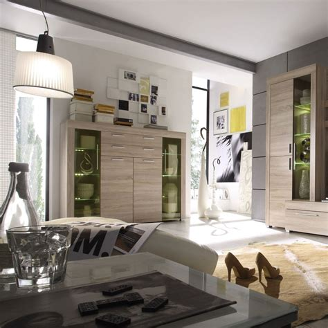 vetrina soggiorno moderna vetrina moderna azalea credenza con led mobile soggiorno