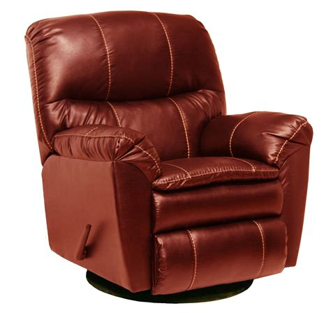 red leather recliner cosmo red leather swivel glider recliner