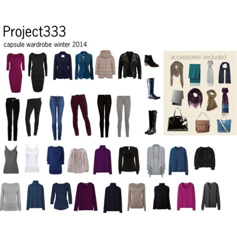 Project 333 Capsule Wardrobe by Project 333 Winter Everyday Fashion